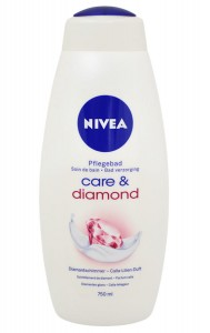 Nivea Care & Diamond płyn do kąpieli 750 ml