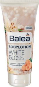 Balea White Gloss balsam do ciała 200 ml