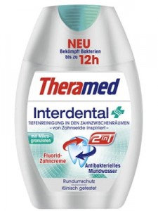 Theramed Interdental 2 w 1 pasta 75 ml