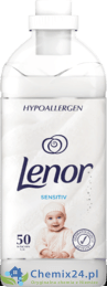 Lenor Sensitiv Hypoallergen do płukania 50 pr 1,5L