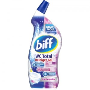 Biff Wc Total Reiniger Gel kwiatowy 750 ml