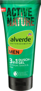 Alverde Active Nature żel do kąpieli 200 ml