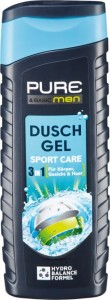 Pure & Basic Men Sport Care 3 w 1 - żel pod pryszn