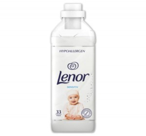 Lenor Sensitiv płyn do płukania 33 prania - 990 ml