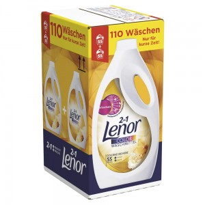 Lenor Color Goldene Orchidee 2 x 55 prań - 6,05 L