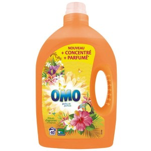 Omo Citrus Flowers żel do prania 40 pr - 2L FR