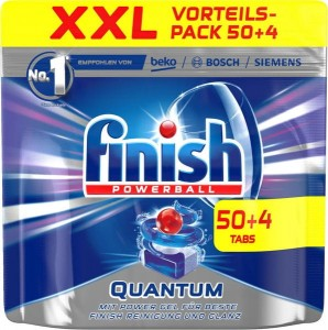 Finish Quantum tabletki do zmywarki 54 szt