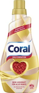 Coral Gold Sensation do kolorów 22 prania - 1,1 L