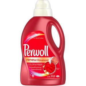 Perwoll renew Advance Color & Faser do koloru 1,5L