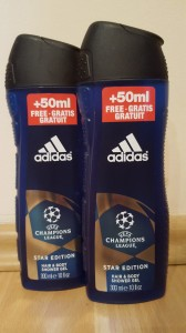 Adidas Champions League żel pod prysznic - 300 ml