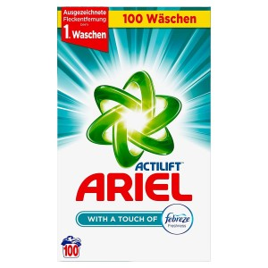 Ariel Actilift With a Touch of Febreze 6,5 kg 100p