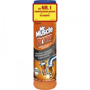 Mr. Muscle Drano Power-Granulat do rur 500 g