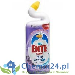 Wc Ente Total Activ Gel Lavendel 750 ml