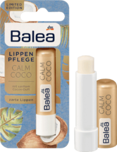 Balea Calm Coco kokosowa pomadka do ust 4,8 g