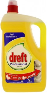 Dreft Professional Lemon do naczyń 5 L - Belgia