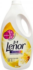 Lenor Color Goldene Orchidee żel 55 prań - 3025 ml