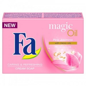 Fa Magic Oil Pink Jasmine mydło w kostce 100 g