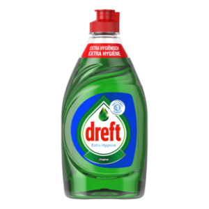 Dreft Original Extra Hygiene do naczyń 383 ml BE
