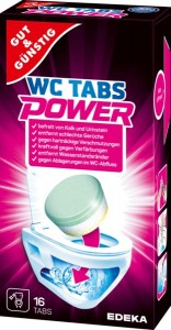 G & G Power Wc Tabs tabletki do wc 16 szt