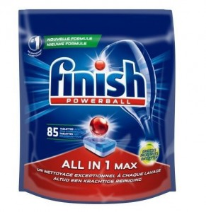 Finish Powerball All In Max tabs do zmywarki 85szt