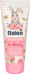 Balea Be Lovely piwonia, kwiat wiśni krem 100 ml