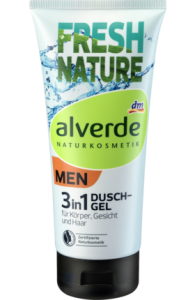 Alverde Men żel do kąpieli 3 w 1 - 200 ml