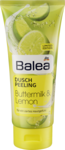 Balea Peeling Buttermilk & Lemon - 200 ML