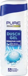 Pure & Basic Men Sensitive Care 3 w 1 - żel pod pr