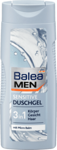 Balea Men sensitive 3 w 1 żel i szampon 300 ml