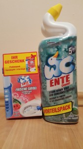 WC Ente Minze żel do wc -  2 x 750 ml + Kleks