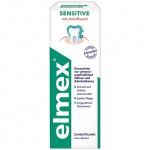 Elmex Sensitive płyn do płukania jamy ustnej 400ml