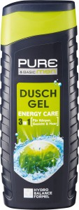 Pure & Basic Men Energy Care 3 w 1 - żel pod prysz