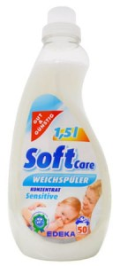 G & G SoftCare Sensitive płyn do płukania 50 prań