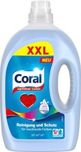 Coral Optimal Color XXL 60 prań - 3 L Neu