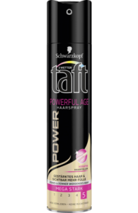 Taft Power Age lakier z keratyną 5 - 250 ml