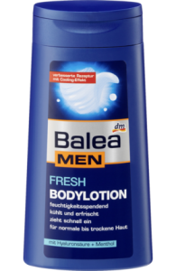 Balea Men fresh balsam do ciała - 250 ml