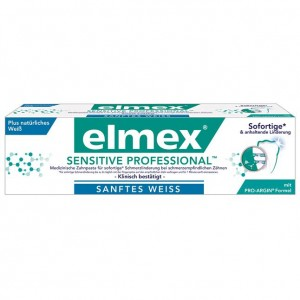 Elmex Sensitive Professional Sanftes Weiss 75 ml