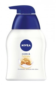 Nivea Care & Honey mydło z pompką 250 ml
