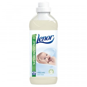 Lenor Pure Care Gentle Touch na 38 prań - 950 ml