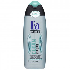 Fa Men Clean & Pure żel pod prysznic 250 ml