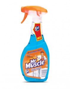 Mr. Muscle Glas-Total 5 w 1 płyn do szyb - 500 ml