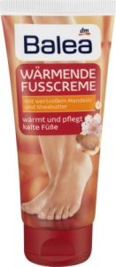 Balea Warmende Fusscreme do stóp - 100 ml