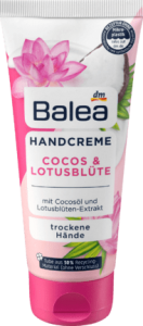 Balea Cocos Lotusblute kwiat lotosu do rąk 100 ml