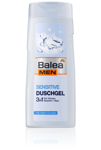 Balea Men Sensitive 3 w 1 zel pod prysznic 300 ML