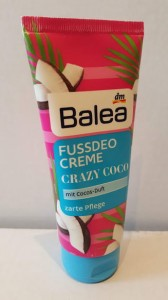 Balea Crazy Coco kokosowy deo- krem do stóp 100 ml