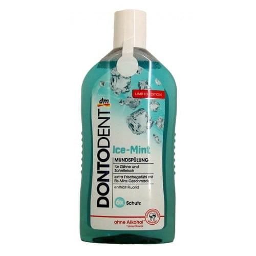 Dentodent Ice Mint płyn do jamy ustnej 500 ml