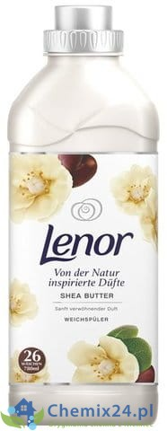 Lenor Shea Butter płyn do płukania 26 p - 780 ml