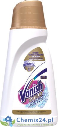 Vanish Gold Oxi Action do białego - 900 ml
