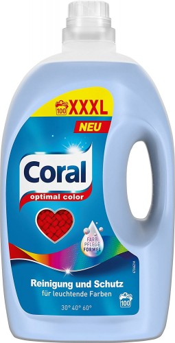 Coral Optimal Color XXXL 5 L - 100 prań NEU